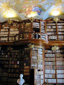 Библиотека монастыря св. Флориана Австрия