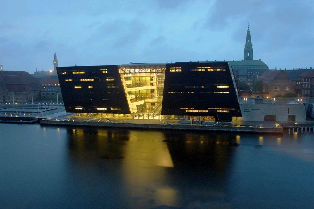 Королевская библиотека Дании (Det Kongelige Bibliotek)