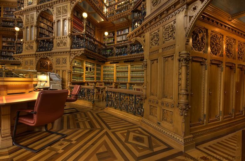 Канадская Библиотека Парламента Оттава Канада