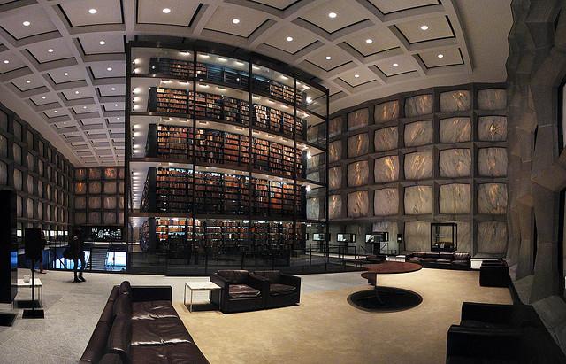 Библиотека редких книг и рукописей, Lauren Manning Йельского университета